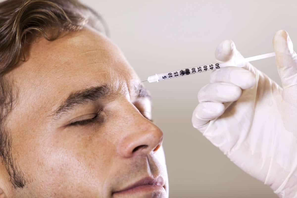 Botox Treatment a solution that may decrease depression man getting fillers arcarapsychiatry.com Arcara Psychiatry
