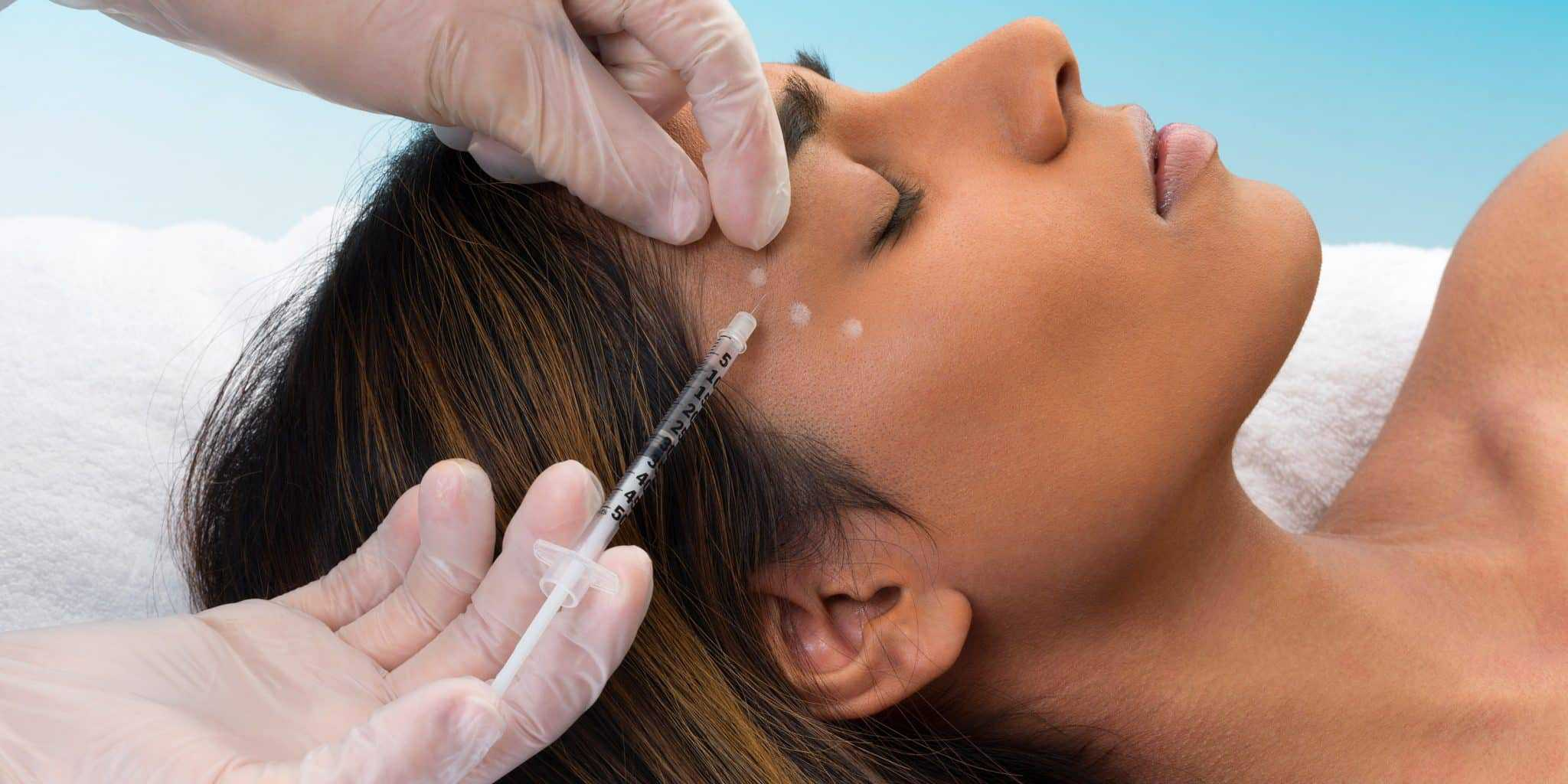 Botox Treatment a solution that may decrease depression woman getting fillers arcarapsychiatry.com Arcara Psychiatry